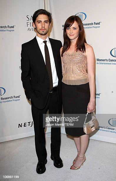 Milo Ventimiglia and Alexis Bledel during Saks Fifth Avenue's Unforgettable Evening Benefit for EIF's Women's Cancer Research Fund Arrivals at Regent...