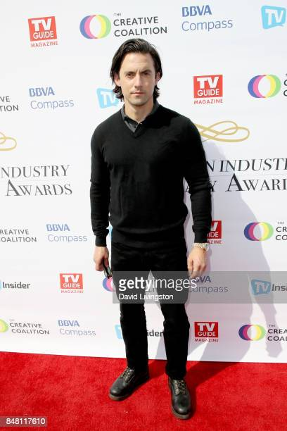 Milo Ventimiglia at the Television Industry Advocacy Awards at TAO Hollywood on September 16 2017 in Los Angeles California