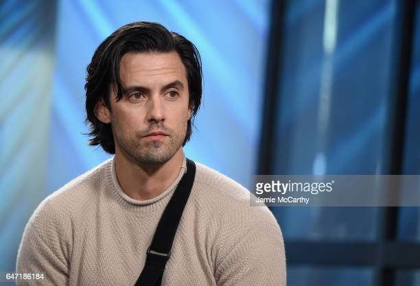 Milo Ventimiglia attends the Build Series Presents Milo Ventimiglia Discussing 'This Is Us' at Build Studio on March 2 2017 in New York City