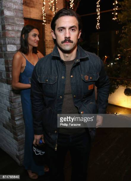 Milo Ventimiglia attends the HFPA's and InStyle's Celebration of the 2018 Golden Globe Awards Season and the Unveiling of the Golden Globe Ambassador...