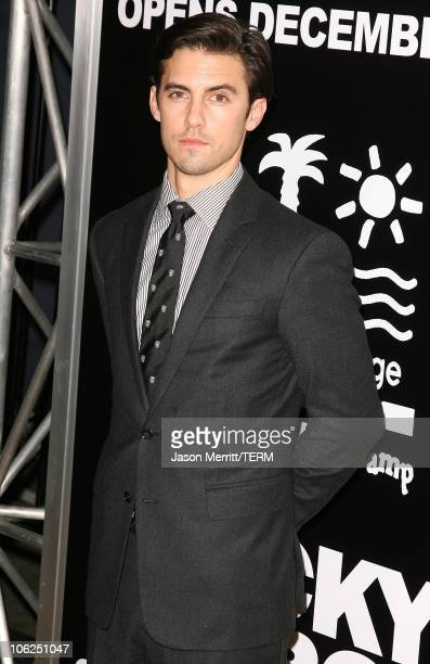 Milo Ventimiglia during 'Rocky Balboa' World Premiere Arrivals at Chinese Theatre in Hollywood California United States