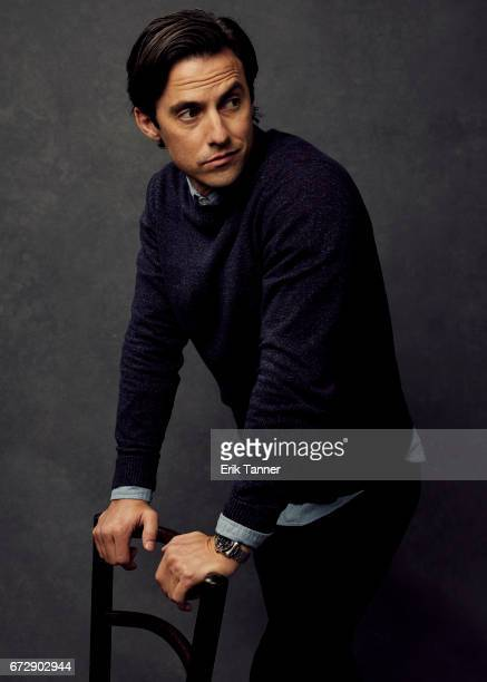 Milo Ventimiglia from 'Devil's Gate' poses at the 2017 Tribeca Film Festival portrait studio on April 24 2017 in New York City