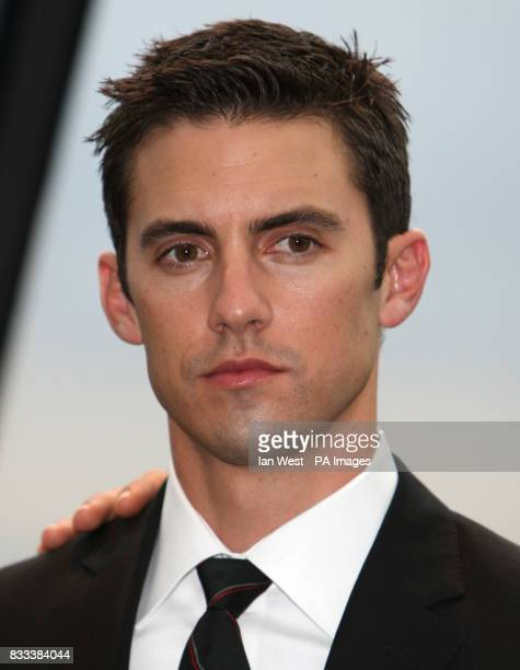 Milo Ventimiglia from the cast of Heroes attending a photocall at 30 St Mary Axe in the City of London