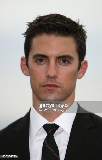 Milo Ventimiglia from the cast of Heroes attends a photocall at 30 St Mary Axe in the City of London