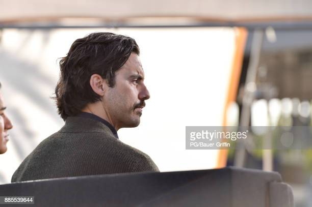 Milo Ventimiglia is seen on December 04 2017 in Los Angeles California