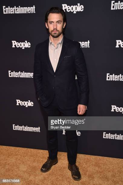 Milo Ventimiglia of This Is Us attends the Entertainment Weekly and PEOPLE Upfronts party presented by Netflix and Terra Chips at Second Floor on May...