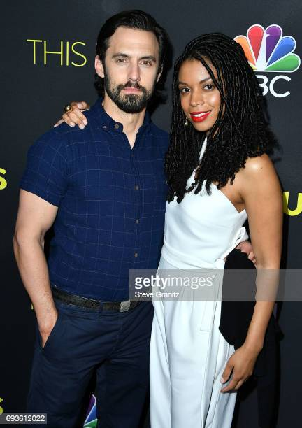 Milo VentimigliaSusan Kelechi Watson arrives at 20th Century Fox Television NBC's 'This Is Us' FYC Screening And Panel at The Cinerama Dome on June 7...