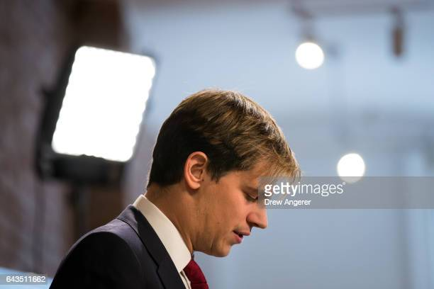 Milo Yiannopoulos speaks during a press conference February 21 2017 in New York City After comments he made regarding pedophilia surfaced in an...