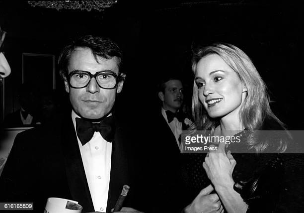 Milos Forman and Jessica Lange circa 1978 in New York City