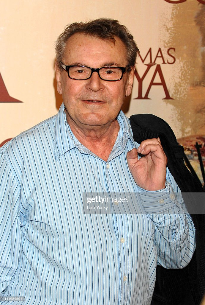 Milos Forman , director during 'Goya's Ghosts' Photocall in Madri...