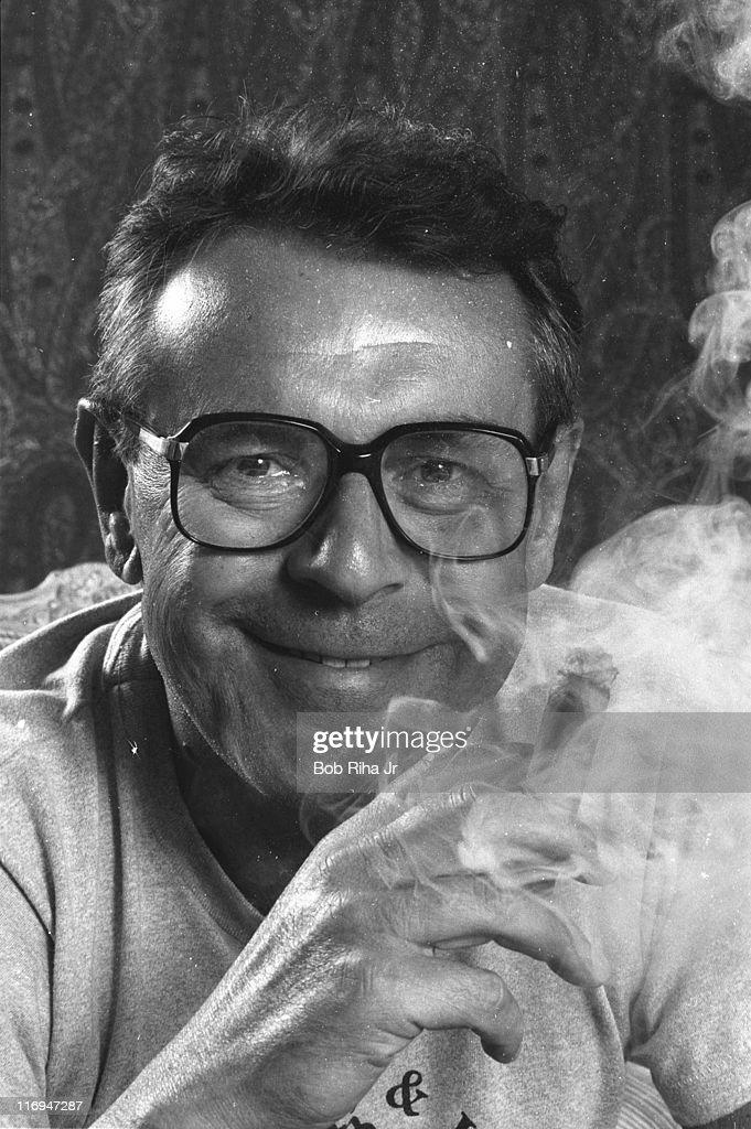 Milos Forman during Milos Forman 1984 Portrait Session at Beverly ...