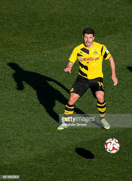 Milos Jojic of Borussia Dortmund during a friendly match against Steaua Bukarest at Borussia Dortmund training ground on JANUARY 17 2015 in LaManga...
