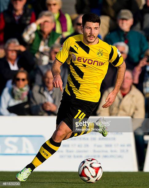 Milos Jojic of Borussia Dortmund during a friendly match against FC Sion at Borussia Dortmund training ground on JANUARY 13 2015 in LaManga Spain