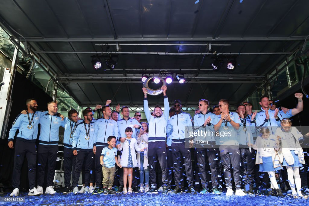 Sydney FC Celebrate A-League Grand Final Win