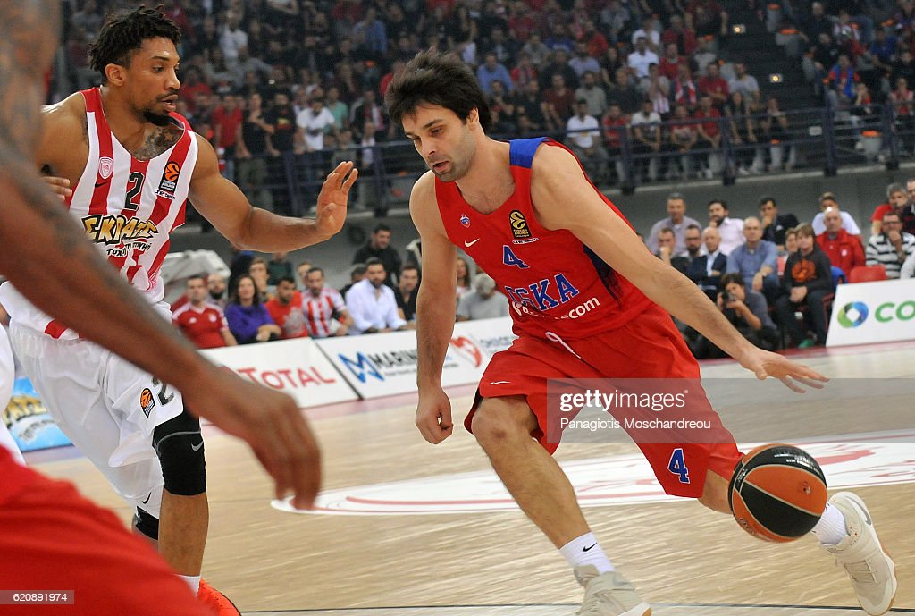 Olympiacos Piraeus v CSKA Moscow - Turkish Airlines Euroleague
