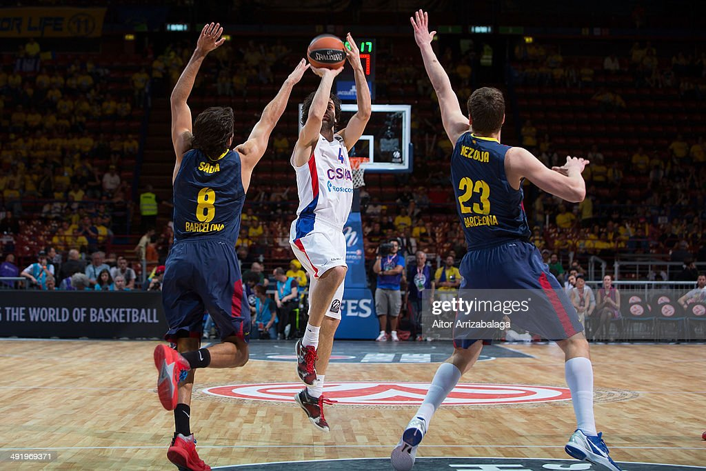 FC Barcelona vs CSKA Moscow - Turkish Airlines EuroLeague Final Four 3rd Place Play Off