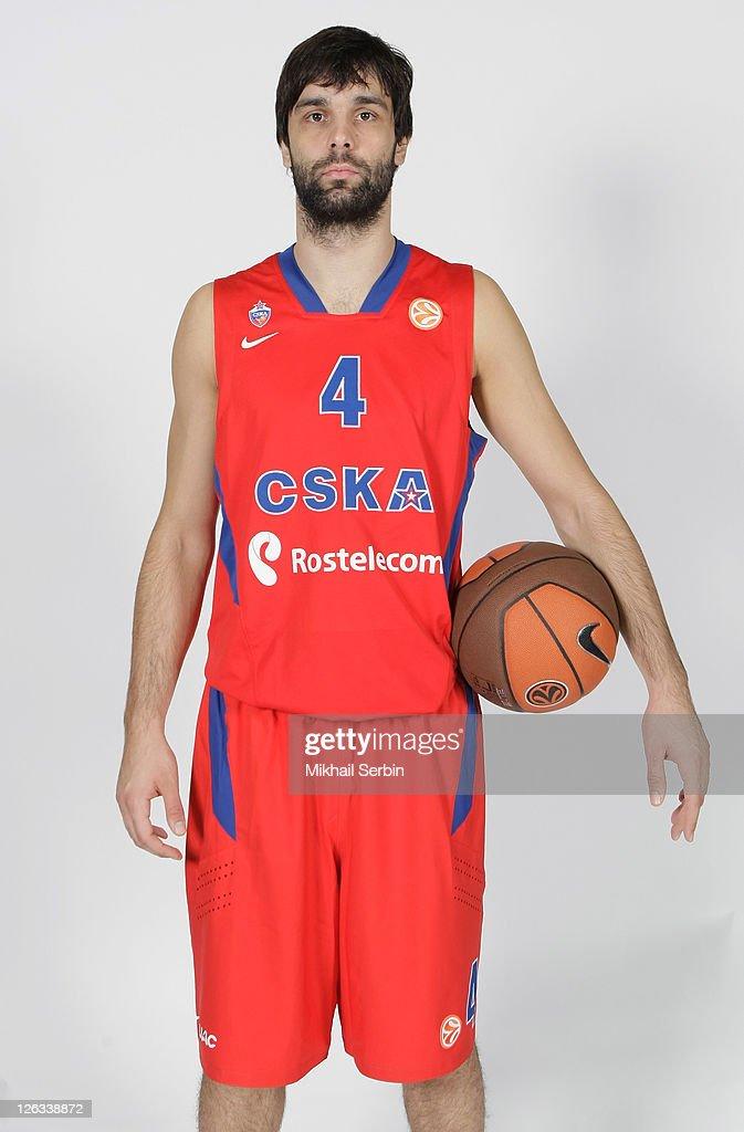 CSKA Moscow - 2011/12 Turkish Airlines Euroleague Basketball Media day