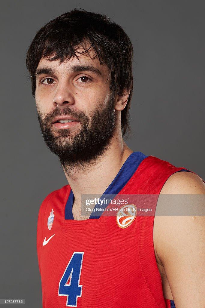 CSKA Moscow - 2011/12 Euro League Basketball Media day