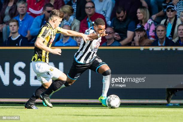 Milot Rashica of Vitesse Lerin Duarte of Heracles Almelo during the Dutch Eredivisie match between Heracles Almelo and Vitesse Arnhem at Polman...