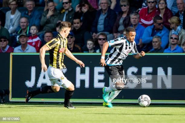 Milot Rashica of Vitesse Lerin Duarte of Heracles Almelo during the Dutch Eredivisie match between Heracles Almelo and Vitesse Arnhem at Polman...