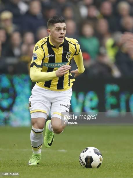Milot Rashica of Vitesseduring the Dutch Eredivisie match between Vitesse Arnhem and Ajax Amsterdam at Gelredome on February 19 2017 in Arnhem The...