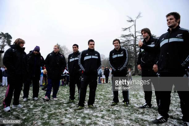 Mils MULIAINA / Dimitri SZARZEWSKI / Dan CARTER / Mathieu BASTAREAUD / Sam WHITELOCK / Richie McCAW / James HASKELL / Conrad SMITH Operation Adidas...