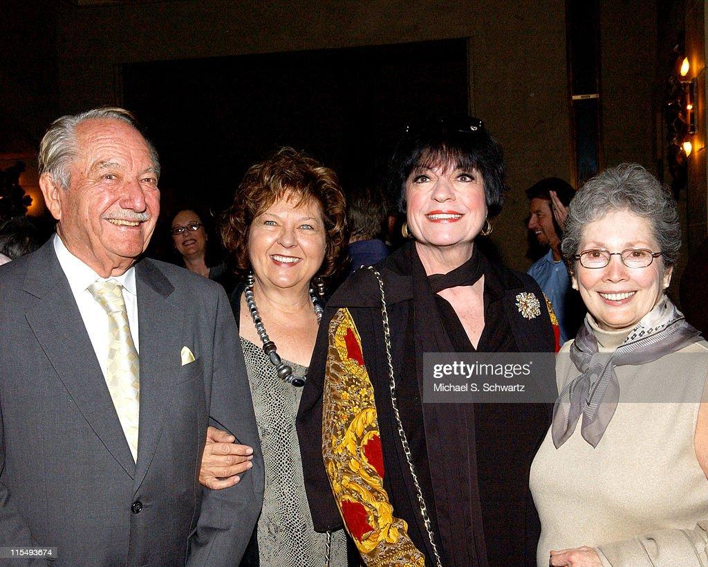 Milt Larsen Arlene Larsen Jo Anne Worley and Patricia Morrison