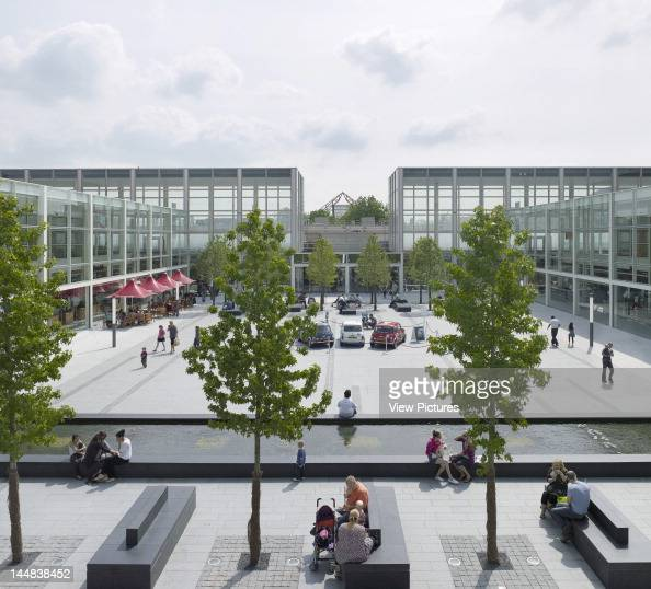 Milton Keynes Shopping Centre Queen''S Court 24 Silbury Arcade Milton Keynes Buckinghamshire United Kingdom Architect Allies And Morrison Milton...