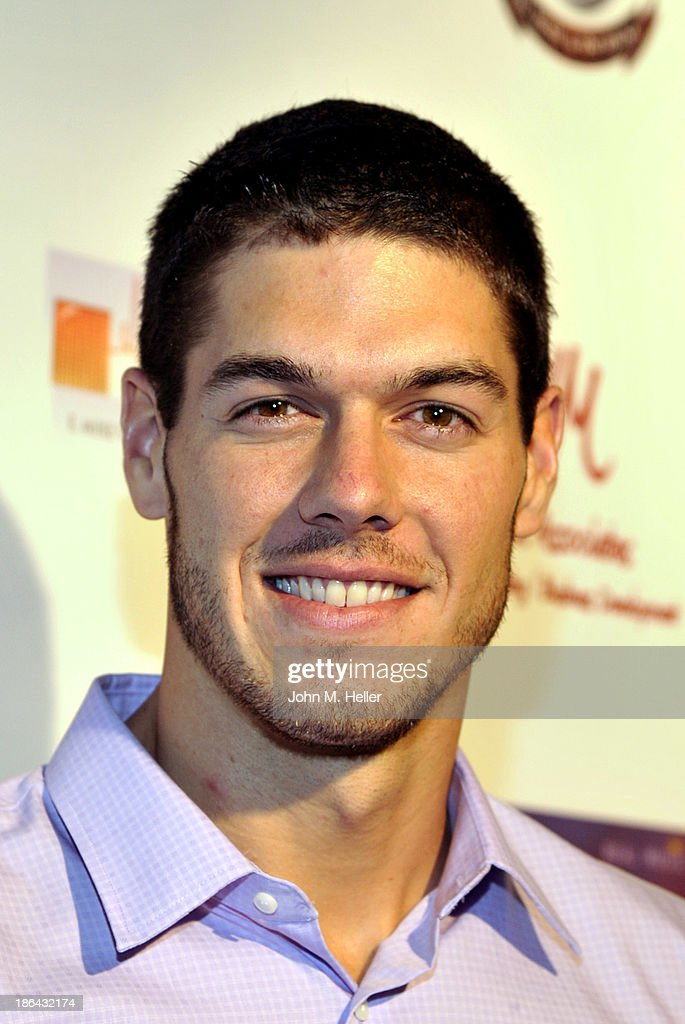 Milwaukee Brewers pitcher Josh Ravin attends the 2013 Grammy Award Winner Omar Akram's album release party for 'Daytime Dreamer' at the House of Music & Entertainment on October 30, 2013 in Beverly Hills, California.