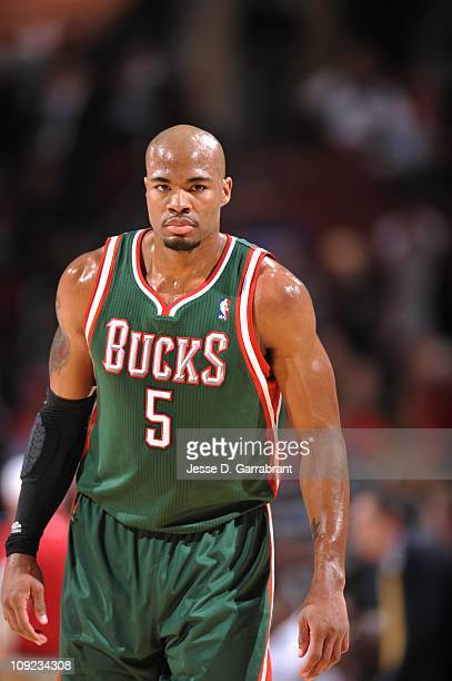 Milwaukee Bucks small forward Corey Maggette looks on during the game against the Philadelphia 76ers on January 14 2011 at the Wells Fargo Center in...
