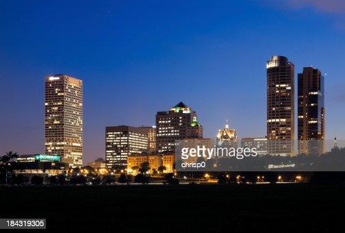 Milwaukee Skyline at Dusk