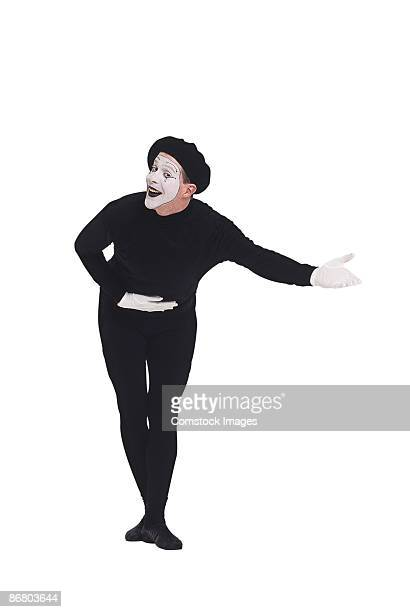 Mime bowing