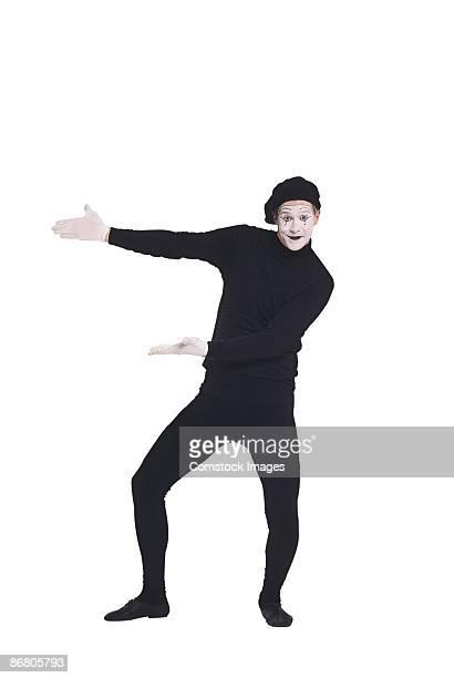 Mime gesturing