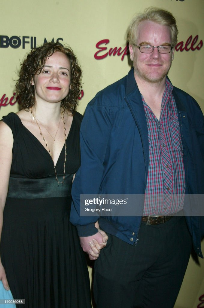 Mimi and Philip Seymour Hoffman during HBO Films 'Empire Falls' New York City Premiere Arrivals at The Metropolitan Museum of Art in New York City...