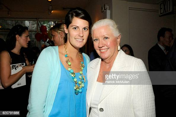Mimi Crume and Muffi James attend 'PARTY FAVORS' by Nicole Sexton Book Release Party at Michael's on July 29 2008 in New York City