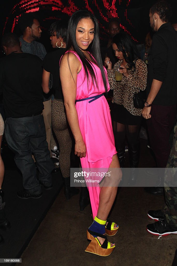 Mimi Faust attends her birthday celebration at Halo Lounge on January 9, 2013 in Atlanta, Georgia.