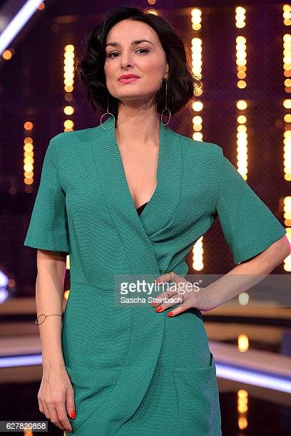 Mimi Fiedler attends the RTL TV Show 'It Takes 2' on November 8 2016 in Cologne Germany The show will be aired on January 15 2017 on RTL