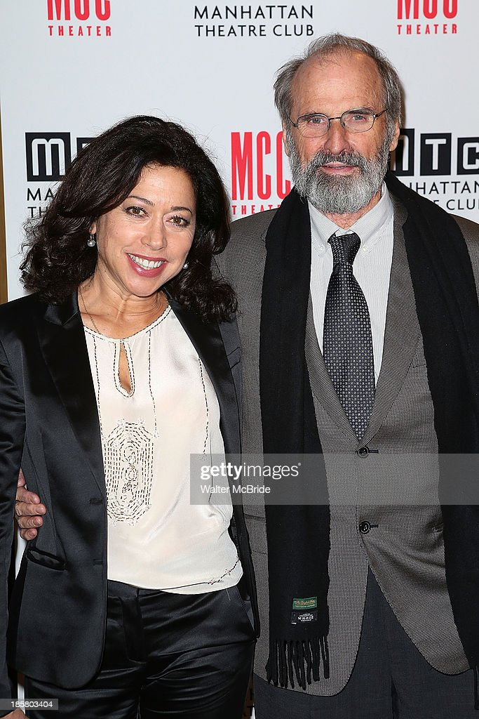 Mimi Lieber and Director <a gi-track='captionPersonalityLinkClicked' href=/galleries/search?phrase=Daniel+Sullivan+-+Theatre+Director&family=editorial&specificpeople=688056 ng-click='$event.stopPropagation()'>Daniel Sullivan</a> attends the Broadway Opening Night After Party for 'The Snow Geese'' at Copacabana on October 24, 2013 in New York City.