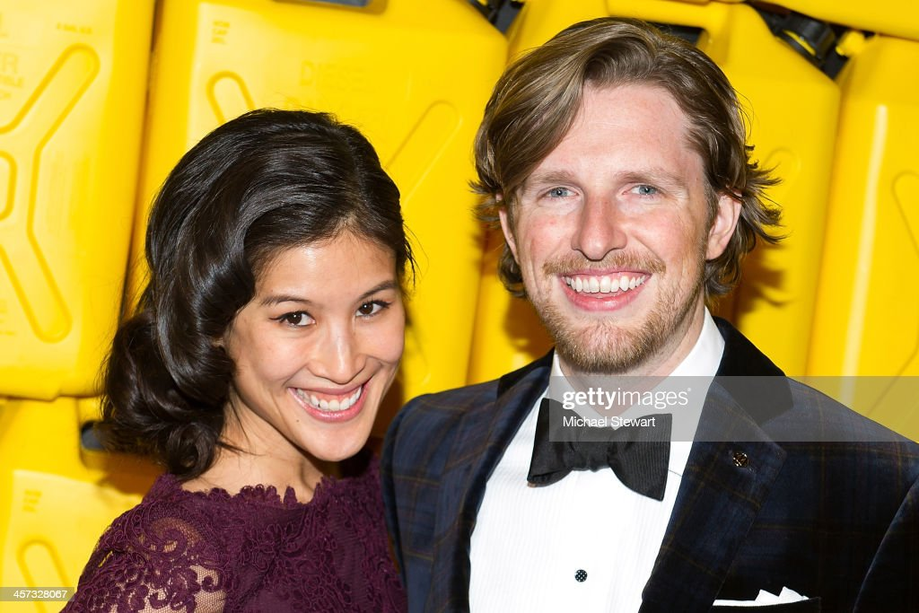 Mimi Phem (L) and Matt Mullenweg attend the 8th annual charity: ball Gala at the Duggal Greenhouse on December 16, 2013 in the Brooklyn borough of New York City.