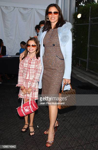 Mimi Rogers and daughter Lucy Julia RogersSciaffa