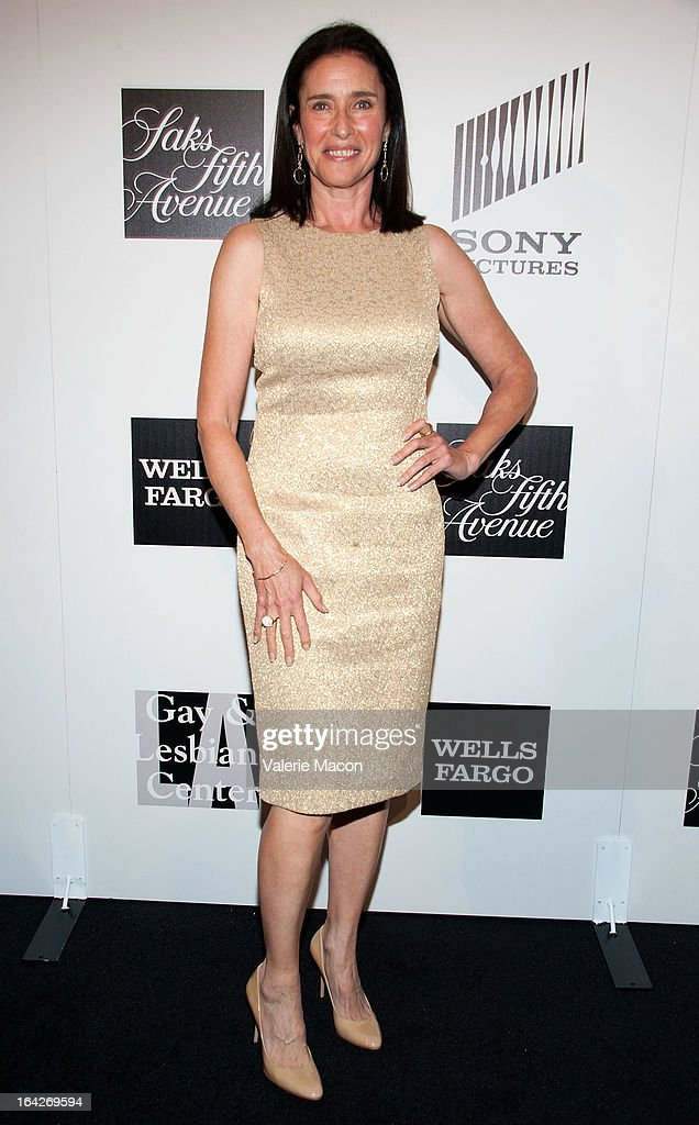 Mimi Rogers arrives at 'An Evening' Benefiting The L.A. Gay & Lesbian Center at the Beverly Wilshire Four Seasons Hotel on March 21, 2013 in Beverly Hills, California.