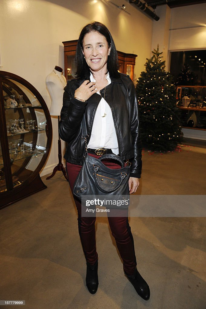 Mimi Rogers attends Beth Yorn's Jewelry Show at Roseark on December 5, 2012 in West Hollywood, California.