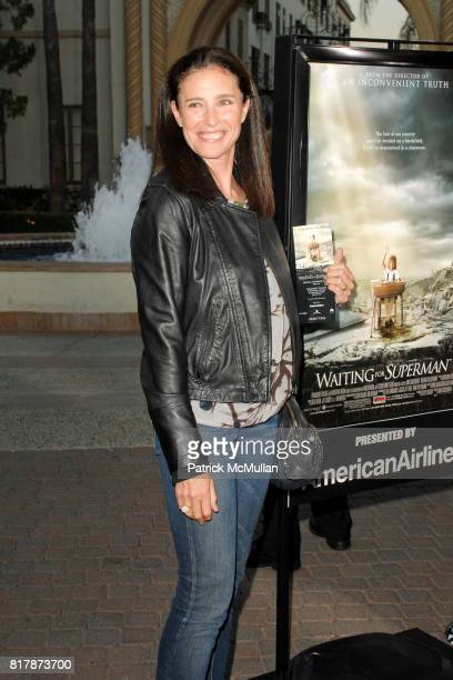 Mimi Rogers attends Waiting For 'Superman' Premiere at Paramount Theatre on September 20 2010 in Hollywood California