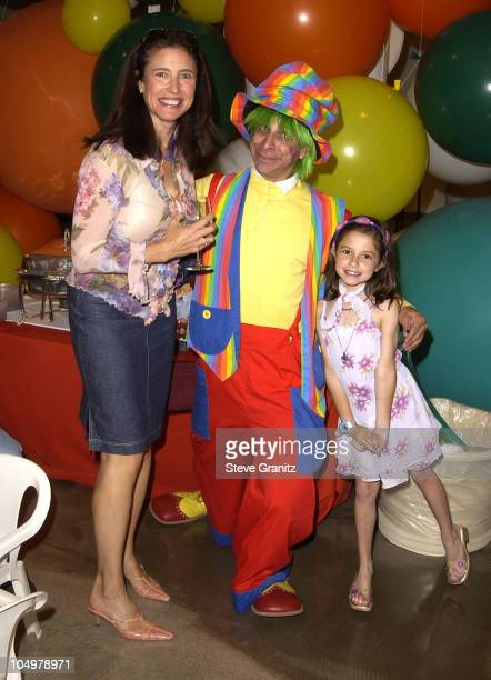 Mimi Rogers daughter Lucy during Step Up Women's Network Saks Fifth Avenue PreMother's Day Brunch at Saks Fifth Avenue in Beverly Hills California...