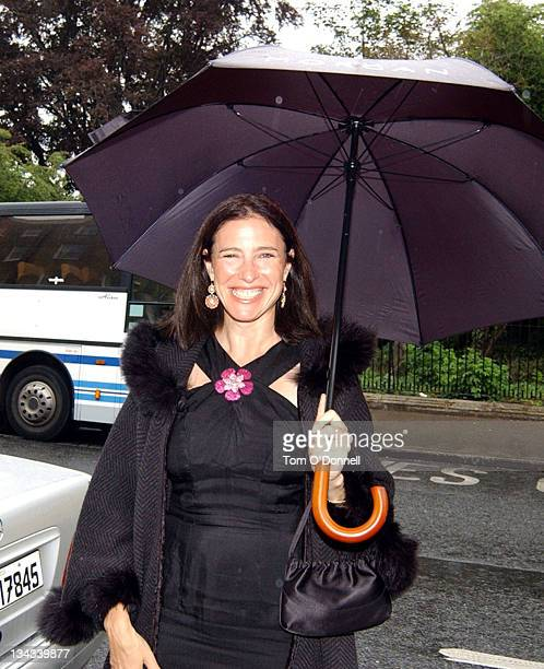 Mimi Rogers during The Launch of The Gaming Club World Poker Championship at The Merrion Casino Club in Dublin Ireland