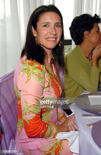 Mimi Rogers during Van Cleef Arpels Private Luncheon at Mondrian Hotel in Hollywood California United States