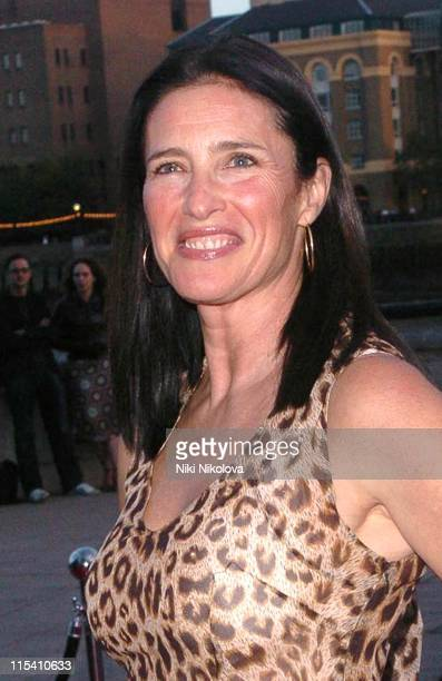 Mimi Rogers during World Poker Exchange London Open Launch Party at Old Billingsgate Market in London Great Britain