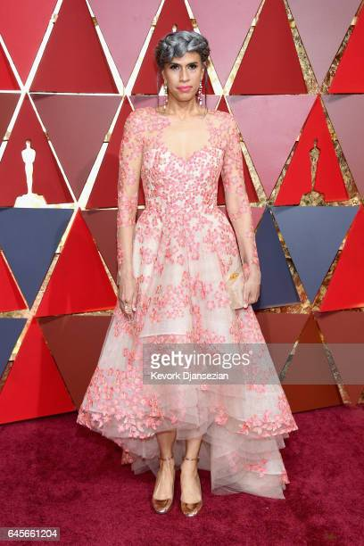 Helen Lasichanh attends the 89th Annual Academy Awards at Hollywood Highland Center on February 26 2017 in Hollywood California