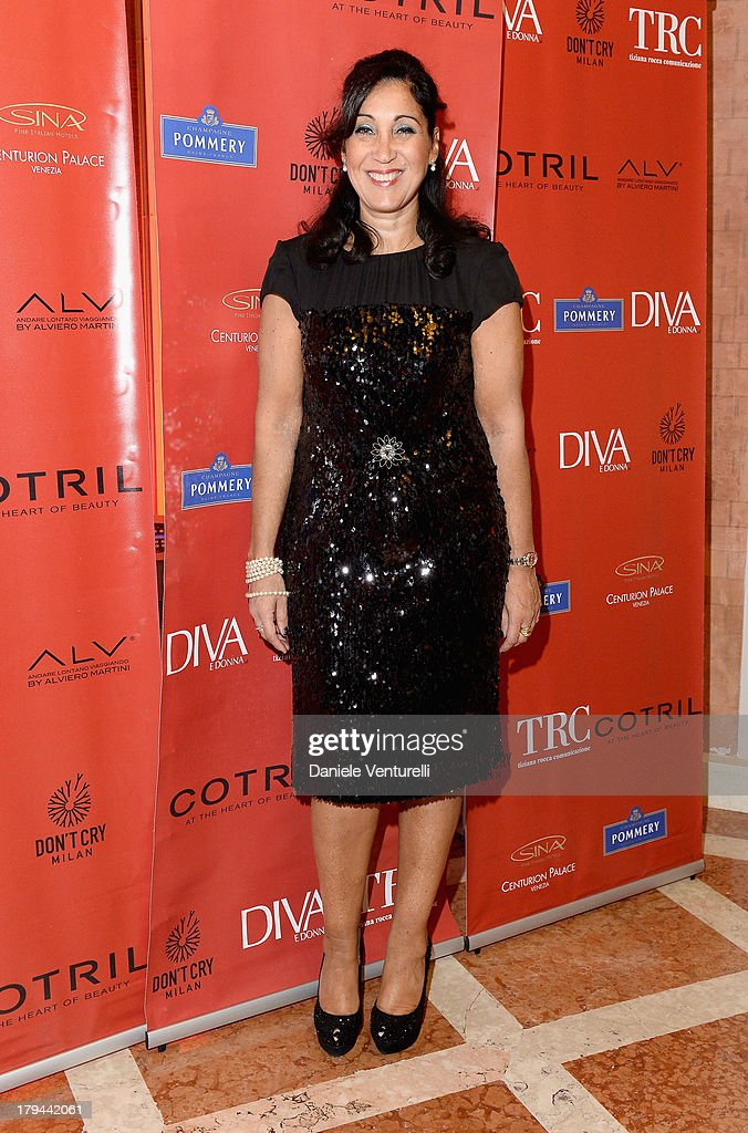 Mimma Posca attends 'Diva e Donna' Party during the 70th Venice International Film Festival at Centurion Palace Hotel on September 3, 2013 in Venice, Italy.