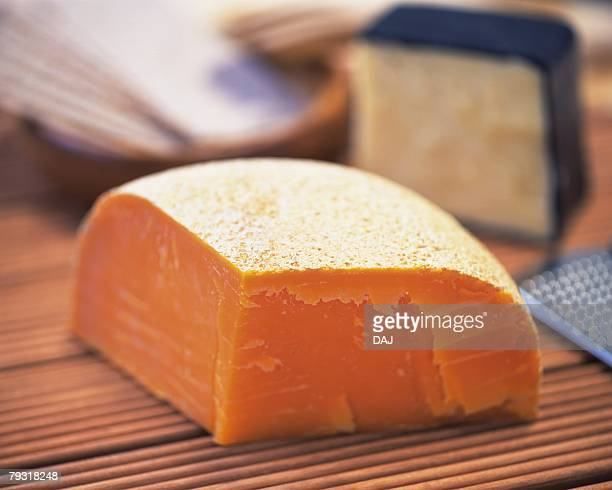 Mimolette Cheese, Close Up, Differential Focus